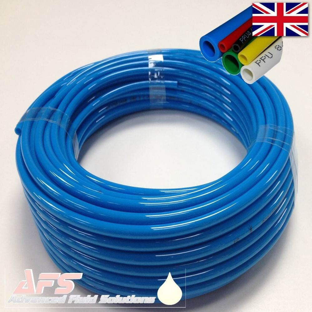 Compressed Air Car >> 6mm OD x 4mm ID Metric Polyurethane Flexible Tubing PU Air Pipe BLUE